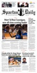Spartan Daily, January 27, 2015 by San Jose State University, School of Journalism and Mass Communications