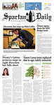 Spartan Daily, Febuary 3, 2015 by San Jose State University, School of Journalism and Mass Communications