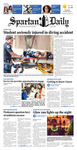 Spartan Daily, March 19, 2015 by San Jose State University, School of Journalism and Mass Communications