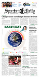 Spartan Daily, April 22, 2015 by San Jose State University, School of Journalism and Mass Communications