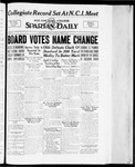 Spartan Daily, April 9, 1934 by San Jose State University, School of Journalism and Mass Communications
