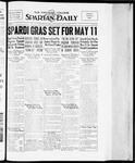 Spartan Daily, April 11, 1934