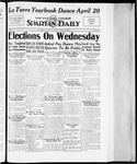 Spartan Daily, April 16, 1934 by San Jose State University, School of Journalism and Mass Communications