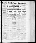 Spartan Daily, April 20, 1934 by San Jose State University, School of Journalism and Mass Communications