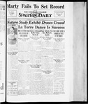 Spartan Daily, April 23, 1934 by San Jose State University, School of Journalism and Mass Communications