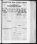 Spartan Daily, April 30, 1934 by San Jose State University, School of Journalism and Mass Communications