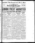 Spartan Daily, May 7, 1934