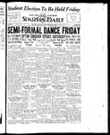 Spartan Daily, May 31, 1934 by San Jose State University, School of Journalism and Mass Communications