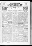 Spartan Daily, September 27, 1934 by San Jose State University, School of Journalism and Mass Communications