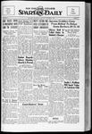 Spartan Daily, October 1, 1934 by San Jose State University, School of Journalism and Mass Communications