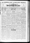 Spartan Daily, October 3, 1934 by San Jose State University, School of Journalism and Mass Communications
