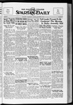 Spartan Daily, October 9, 1934 by San Jose State University, School of Journalism and Mass Communications