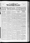Spartan Daily, October 15, 1934 by San Jose State University, School of Journalism and Mass Communications