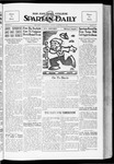 Spartan Daily, October 19, 1934 by San Jose State University, School of Journalism and Mass Communications