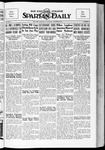 Spartan Daily, October 25, 1934 by San Jose State University, School of Journalism and Mass Communications