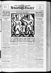 Spartan Daily, October 26, 1934 by San Jose State University, School of Journalism and Mass Communications
