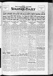Spartan Daily, October 29, 1934 by San Jose State University, School of Journalism and Mass Communications