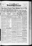 Spartan Daily, November 5, 1934 by San Jose State University, School of Journalism and Mass Communications