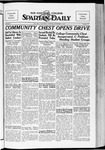 Spartan Daily, November 6, 1934 by San Jose State University, School of Journalism and Mass Communications