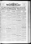 Spartan Daily, November 9, 1934 by San Jose State University, School of Journalism and Mass Communications