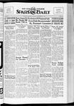 Spartan Daily, November 20, 1934 by San Jose State University, School of Journalism and Mass Communications