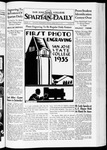 Spartan Daily, February 22, 1935 by San Jose State University, School of Journalism and Mass Communications
