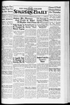 Spartan Daily, May 1, 1935 by San Jose State University, School of Journalism and Mass Communications