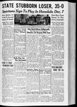 Spartan Daily, September 30, 1935 by San Jose State University, School of Journalism and Mass Communications