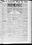 Spartan Daily, May 11, 1936 by San Jose State University, School of Journalism and Mass Communications