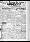 Spartan Daily, May 14, 1936 by San Jose State University, School of Journalism and Mass Communications