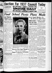 Spartan Daily, May 25, 1936