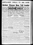Spartan Daily, October 1, 1936