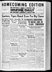 Spartan Daily, October 9, 1936 by San Jose State University, School of Journalism and Mass Communications
