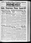 Spartan Daily, October 22, 1936 by San Jose State University, School of Journalism and Mass Communications