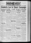 Spartan Daily, October 27, 1936 by San Jose State University, School of Journalism and Mass Communications