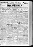 Spartan Daily, November 3, 1936 by San Jose State University, School of Journalism and Mass Communications
