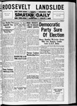 Spartan Daily, November 4, 1936 by San Jose State University, School of Journalism and Mass Communications