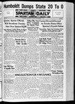 Spartan Daily, November 9, 1936 by San Jose State University, School of Journalism and Mass Communications