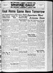 Spartan Daily, November 25, 1936