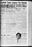 Spartan Daily, December 1, 1936 by San Jose State University, School of Journalism and Mass Communications