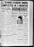 Spartan Daily, December 10, 1936 by San Jose State University, School of Journalism and Mass Communications