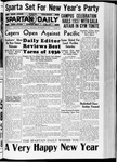 Spartan Daily, December 31, 1936 by San Jose State University, School of Journalism and Mass Communications