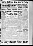 Spartan Daily, December 31, 1936