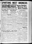 Spartan Daily, January 8, 1937 by San Jose State University, School of Journalism and Mass Communications