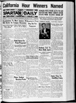 Spartan Daily, January 13, 1937 by San Jose State University, School of Journalism and Mass Communications