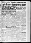 Spartan Daily, February 26, 1937 by San Jose State University, School of Journalism and Mass Communications