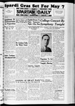 Spartan Daily, March 9, 1937