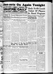 Spartan Daily, March 19, 1937 by San Jose State University, School of Journalism and Mass Communications