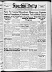 Spartan Daily, April 27, 1937 by San Jose State University, School of Journalism and Mass Communications