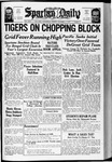 Spartan Daily, October 1, 1937 by San Jose State University, School of Journalism and Mass Communications